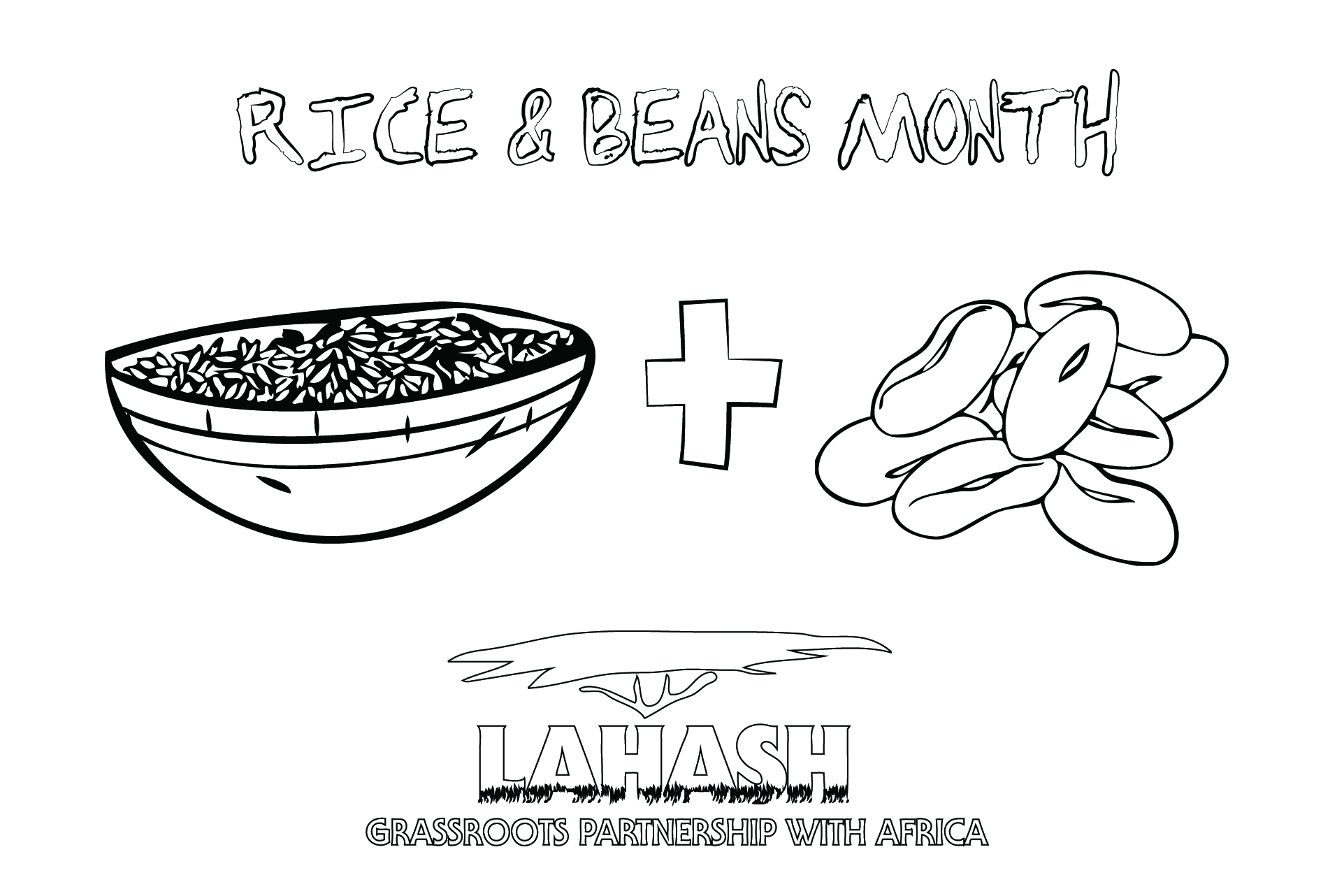 Rice & Beans Month | Rice & Beans in Color